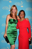 Michelle Stafford & Glenda Hatchett — Stock Photo