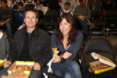 Phil Keoghan & Wife — Stock Photo