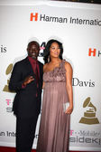 Djimon Hounsou & Kimora Lee — Stock Photo