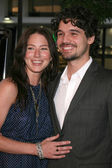 Lynn Collins & Steven Strait — Stock Photo