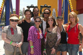 Patrika Darbo, Steve Richard Harris, Kristoff St John, Christine — Stock Photo