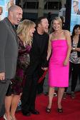Ashley Jensen & Ricky Gervais , & Spouses — Stock Photo
