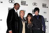 Snoop Dogg, Lloyd Klein, Paula Abdul, & Adam Lambert — Stock Photo