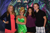 Tiffany Thornton, Tinkerbell, Brenda Song, Jason Dolley — Stock Photo