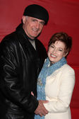 Carolyn Hennesy, husband Donald Agnelli — Stock Photo