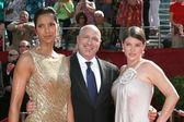 Padma Lakshmi, Tom Colicchio, and Gail Simmons — Stock Photo