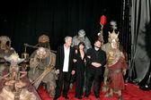 Ron Perlman, Selma Blair, & Guillermo del Toro — Stock Photo