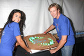 Nadia Bjorlin, Jack Wagner — Stock Photo