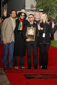 Ben Harper, Don Was, Ringo Starr, Joe Walsh and Barbara Bach — Stock Photo