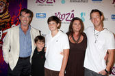 Pierce Brosnan & Family — Stock Photo