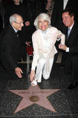 Harry Kullijian, Carol Channing, Davis Gaines — Fotografia Stock