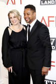 Cuba Gooding Jr and wife — Stock Photo