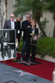 Peter Asher, Phil Everly, Gary Busey, Maria Elena Holly — Stock Photo