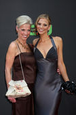 Tamara Braun and her mom — Stock Photo