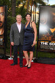 Neal McDonough & Wife — Stock Photo