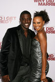 Lance Gross & Eva Pigford — Stock Photo
