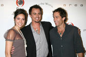 Emily O'Brien, Darin Brooks, Shawn Christian — Stock Photo