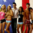 Постер, плакат: Ashley Jones Kristen Renton Andrew Christian Christel Khalil Blake Berris & Lesli Kay