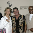 David Hasselhoff, Lindsay Wagner, Paul Michael Glaser and Roger Mosley - Zdjęcie stockowe