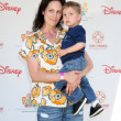 Annabeth Gish & Son — Stock Photo