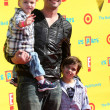 Stock Photo: Daniel Goddard, sons Sebasti& Ford