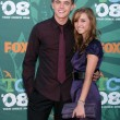 Stock Photo: Jesse McCartney & sister