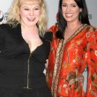Kirsten Vangsness & Paget Brewster — Stock Photo