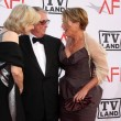 Diane Sawyer, Mike Nichols, Emma Thompson - Stock Photo