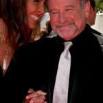 Susan Schneider & Robin WIlliams — Stock Photo #13035614