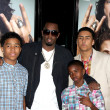 Постер, плакат: Sean Combs & children