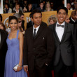 Slumdog Millionaire Cast, Producers, director — Stock Photo
