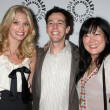 April Bowlby, Josh Berman,  Margaret Cho - Stock Photo