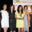 Margo Harshman, Leah Pipes, Rumer Willis, Briana Evigan, Jamie Chung, and A — Stock Photo
