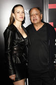 Cheech Marin and wife — Stock Photo