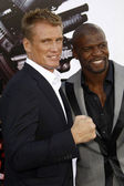 Dolph Lundgren & Terry Crews — Stock Photo