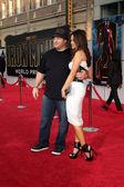 Kevin James & 妻子 — 图库照片