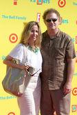 Albert Brooks, wife Kimberly Brooks — Stock Photo