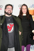 Kevin Smith & Wife — Stock Photo