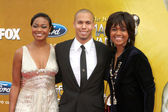 Tatyana Ali, Bryton James, Tonya Lee Williams — Stock Photo