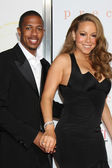 Nick Cannon & Mariah Carey — Stock Photo