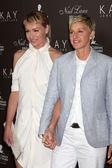 Portia DeRossi, Ellen DeGeneres — Stock Photo