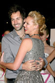 Katherine Heigl & Josh Kelley — Stock Photo