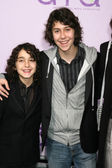 Alex and Nat Wolff — Stock Photo