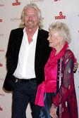 Richard Branson, Eve Branson — Stock Photo