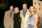 Michelle Phillips, Guest, Chyna Phillips, William Baldwin — Stock Photo