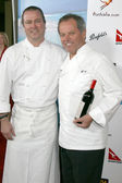 Neil Perry and Wolfgang Puck — Stock Photo