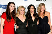 Madeline Zima, Brittany Snow, Demi Moore and Sarah Wright — Stock Photo