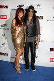Slash, Perla Hudson — 图库照片