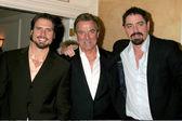 Joshua Morrow, Eric Braeden, Son Christian Gudegast — Stock Photo