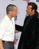 Antonio Sabato Jr and Lorenzo Lamas — Stock Photo
